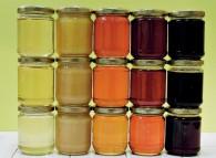 Varietà diverse di miele. L'utilizzo in cucina può compromettere le sue proprietà.