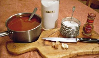 Ingredienti per preparare un chutney a base di frutta