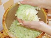 Preparazione dei crauti