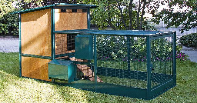 Gabbia galline pollaio Terenziani Arcadel 400 cm