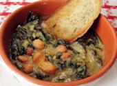 zuppa cavolo nero fagioli