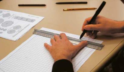 progetto giardino carta millimetrata
